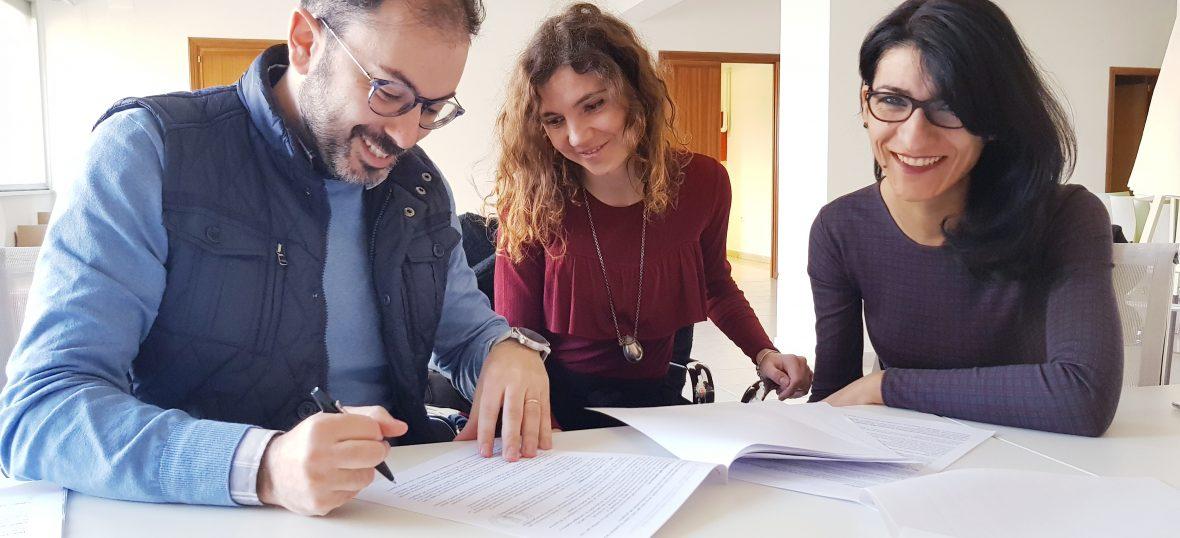 Copertina del post Nuovi progetti attivati: ecco le firme!