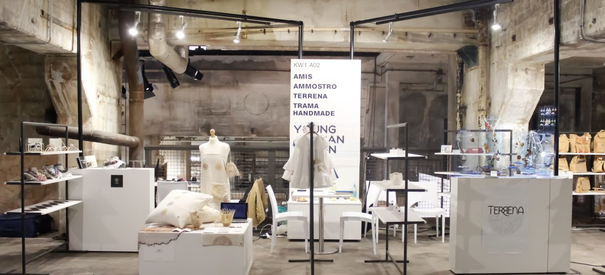 Copertina del post Young Apulian Design: il docuvideo PIN all'Ethical Fashon Show Berlin