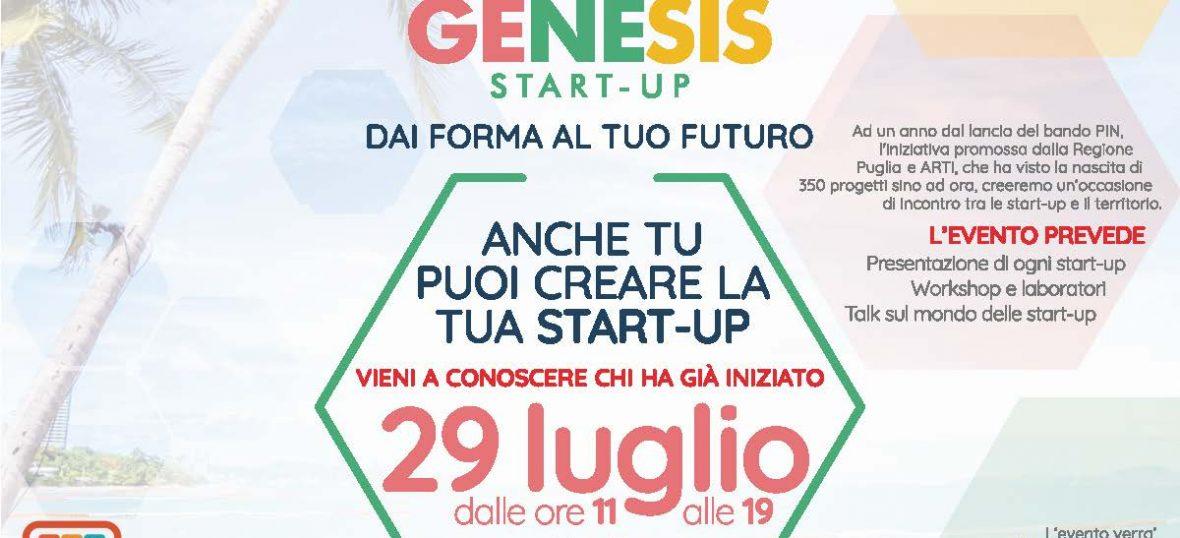 Copertina del post Genesis Start-up: tanti PIN per l'evento di Co-Labory