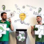 """Foto del gruppo Smart Recycle: """"Trasformazione organica"""""""
