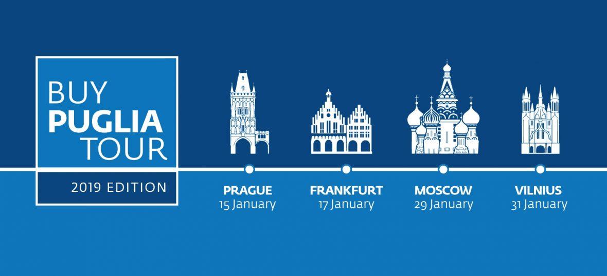 Copertina del post PIN@BuyPuglia Tour: alla conquista dei mercati internazionali!