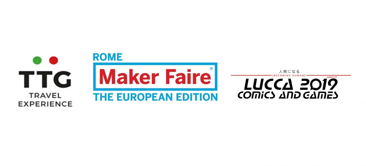 Copertina del post TTG, Maker Fair e Lucca Comics: l'Accompagnamento PIN d'autunno