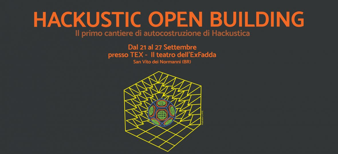 Copertina del post Hackustic Open Building: la call di Hackustica per giovani Makers