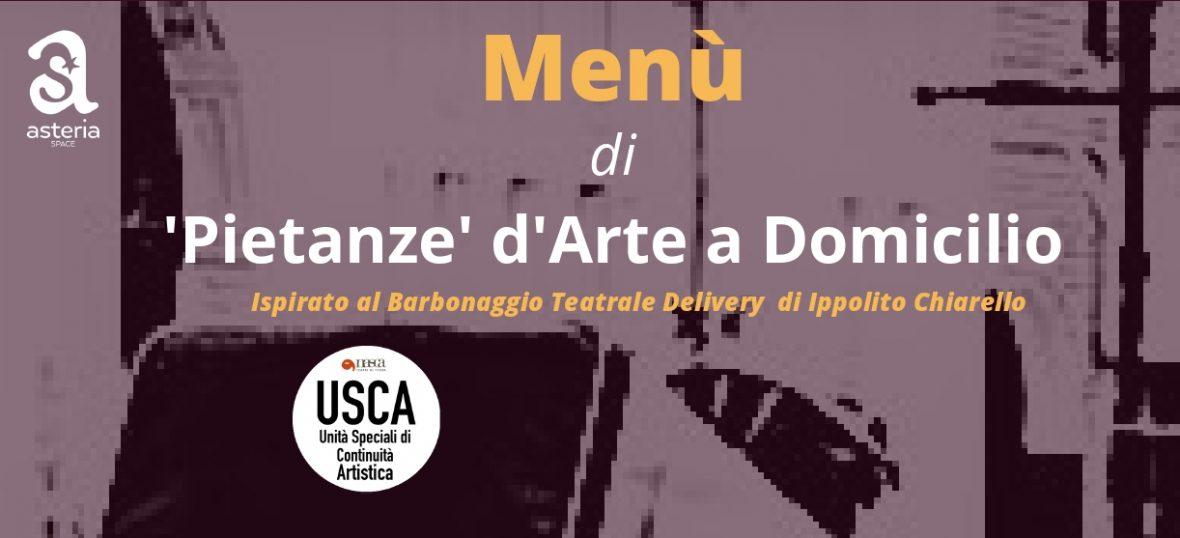Copertina del post Pietanze d'Arte a Domicilio: il delivery di musica, teatro e danza