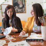 Foto del gruppo Intrecci di Puglia – Embroidery and Illustration