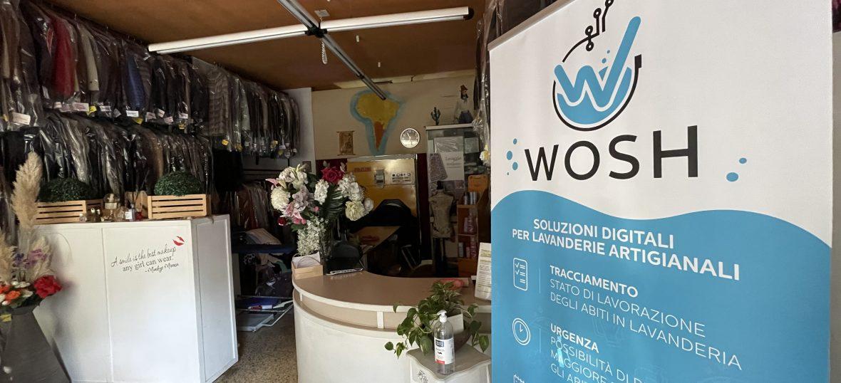 Copertina del post Wosh: un brevetto per migliorare i servizi alle lavanderie